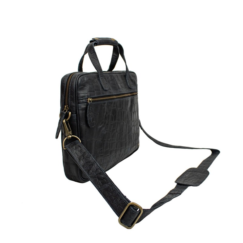 The Compact Laptop Satchel
