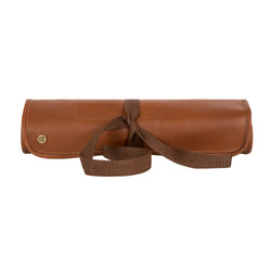 Brown Leather Knife Roll for Chefs and other Professionals