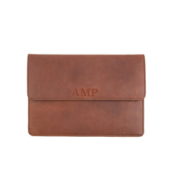 Full Grain Leather Travel Wallet | Personalised with Family Name