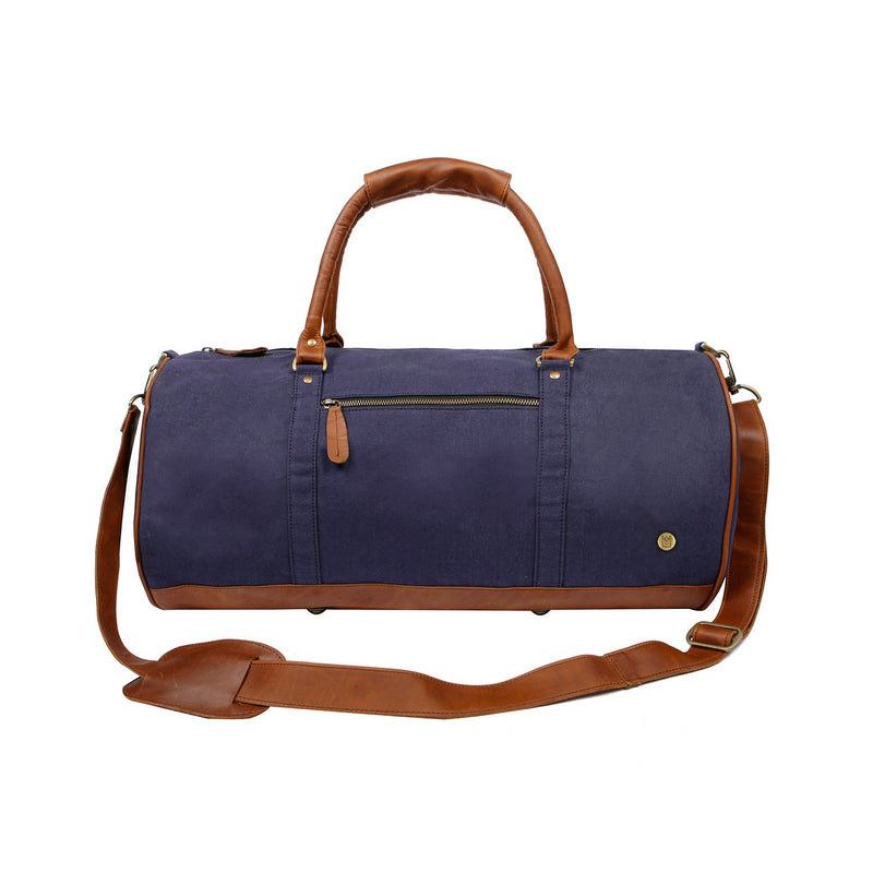 Navy Canvas Duffle