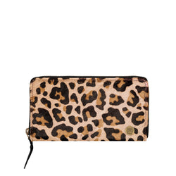 'Pony Hair' Purse | Leopard Print Cowhide Leather Ladies Purse