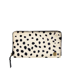 'Pony Hair' Purse | Spot Print Cowhide Leather Ladies Purse