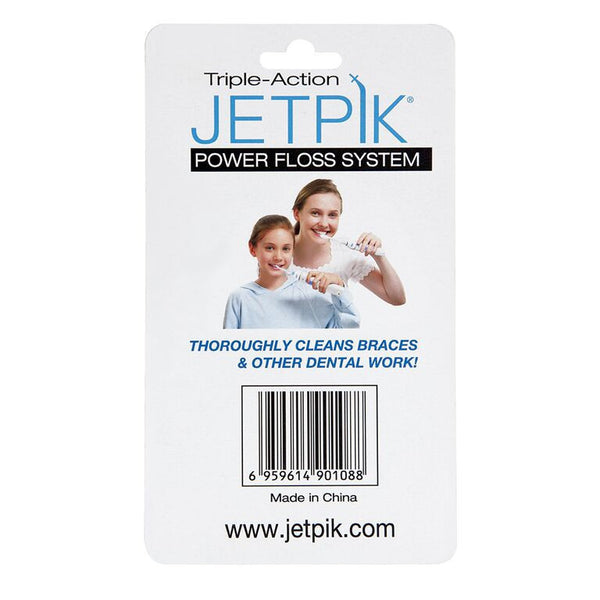 JETPIK Sonic Toothbrush Tip Sensitive Use, 2-pack