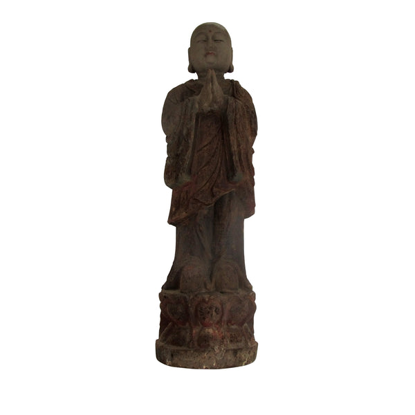 Old standing buddha medium