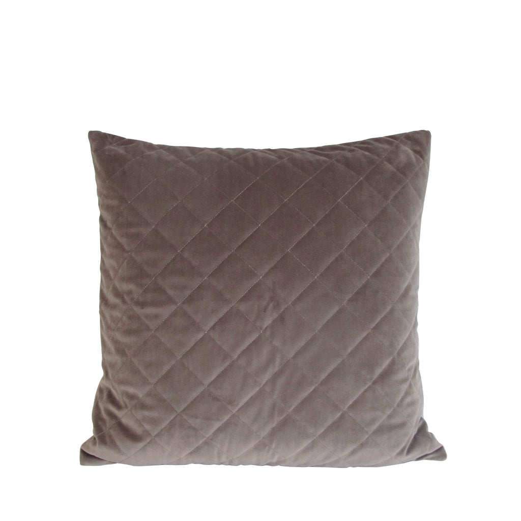 CUSHION TAUPE QUILT