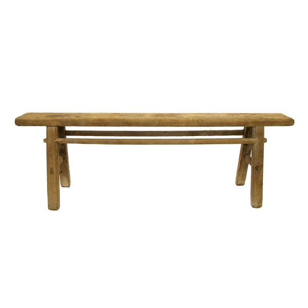 OLD ELM BENCH SMALL