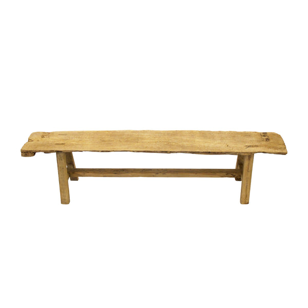 OLD ELM BENCH LARGE