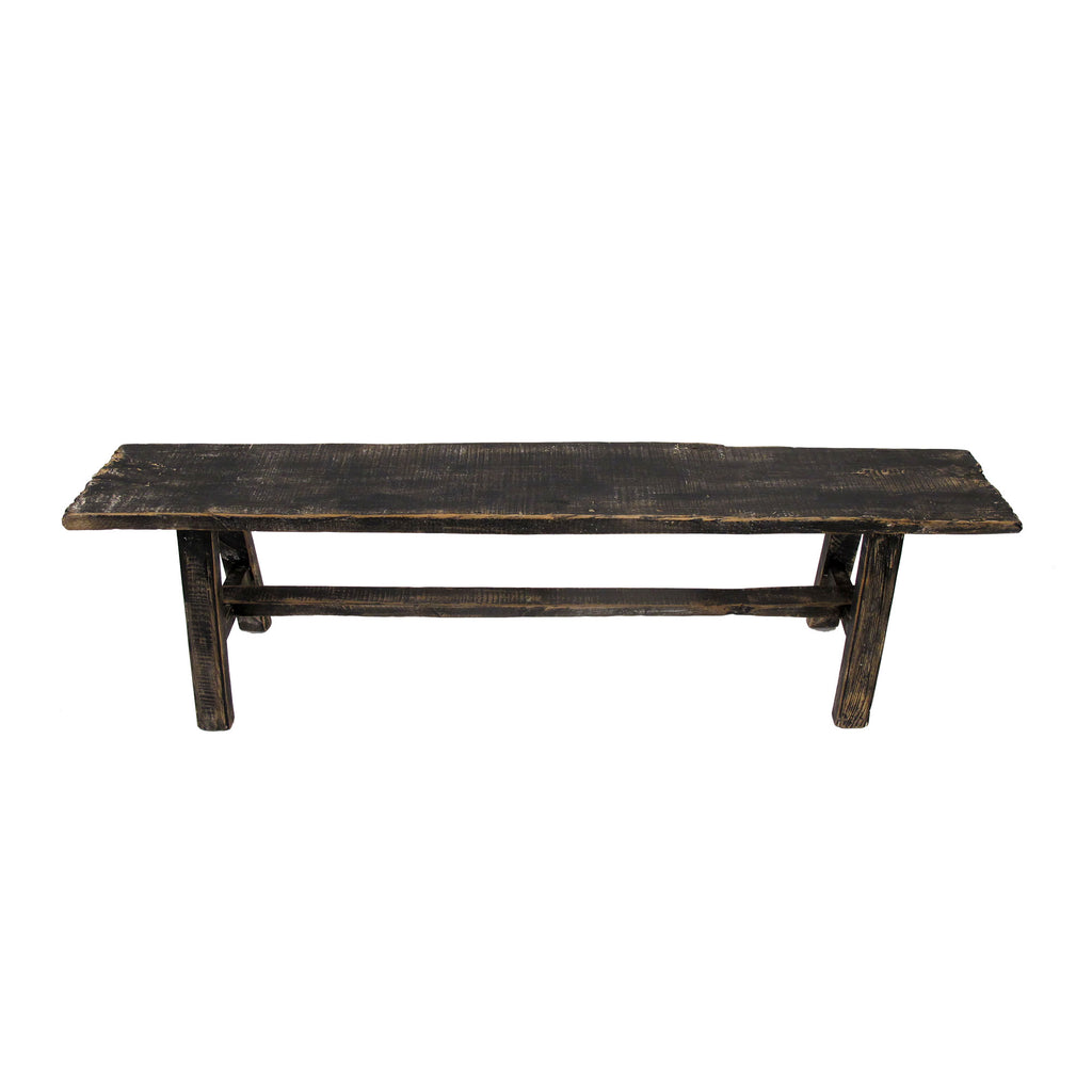BLACK CONSOLE TABLE LOW