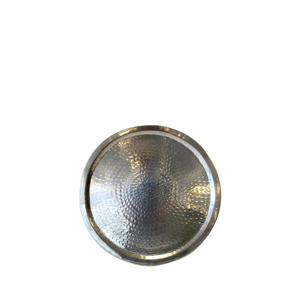 Round tray silver