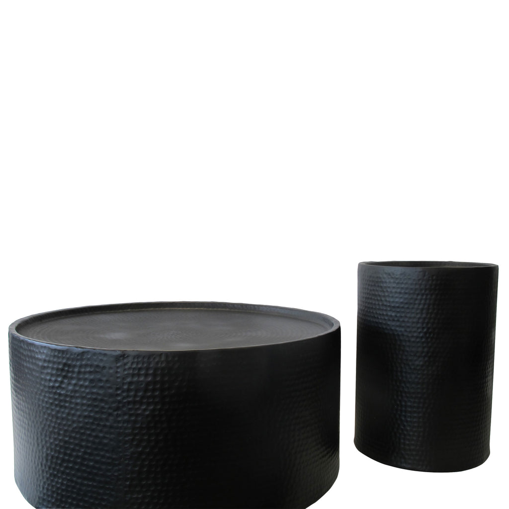 LOUNGE TABLE BLACK, SET/2