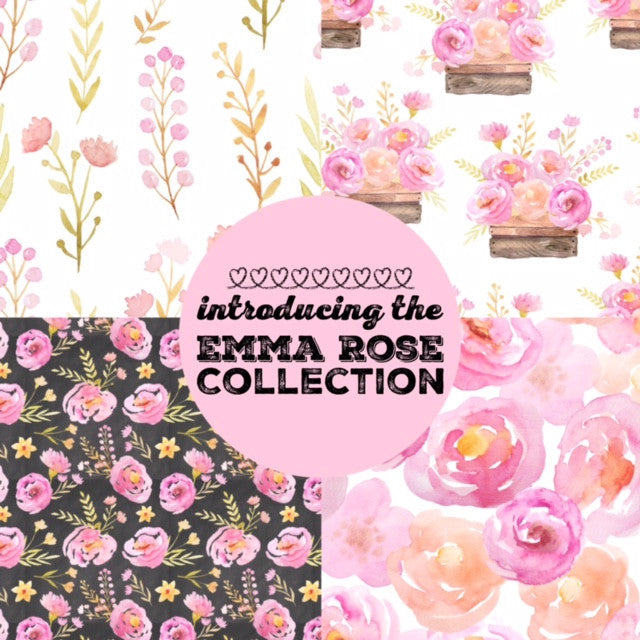 Cotton & Fern is back with the Emma Rose Collection!