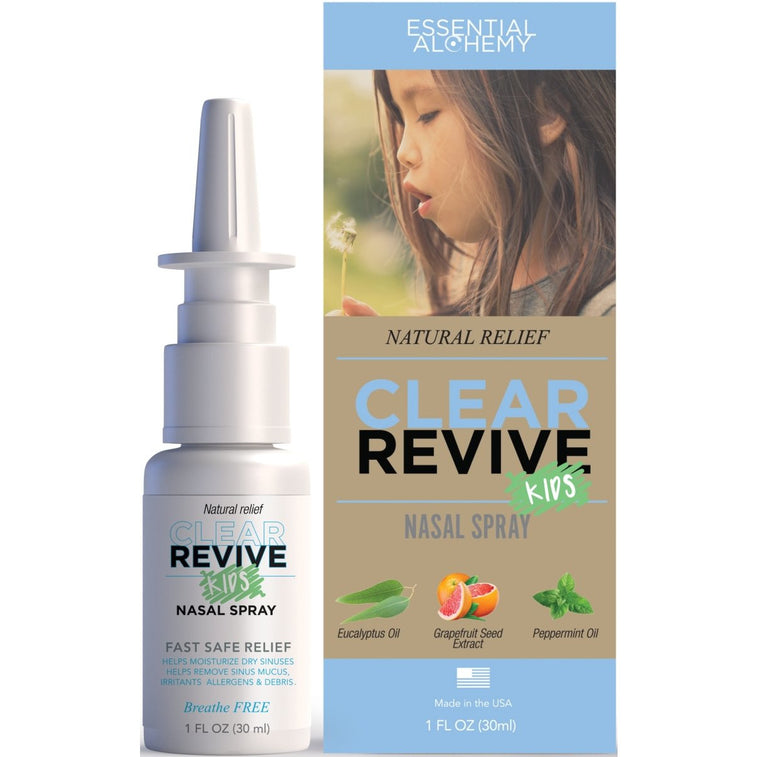 Clear Revive Kids All Natural Nasal Spray - Clear Revive