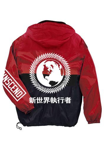 Transcend Global Domination Windbreaker Anorak