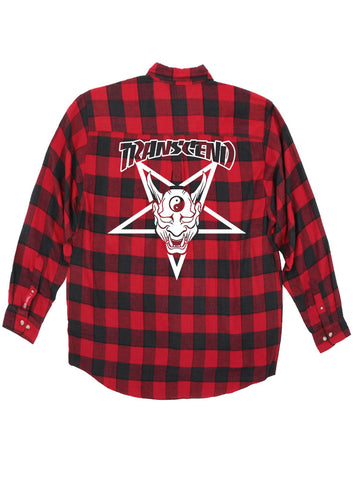 Thrasher Transcend Oni Demon Flannel