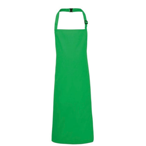 Personalised Kelly Green Apron with British Tweed Appliquéd Initial