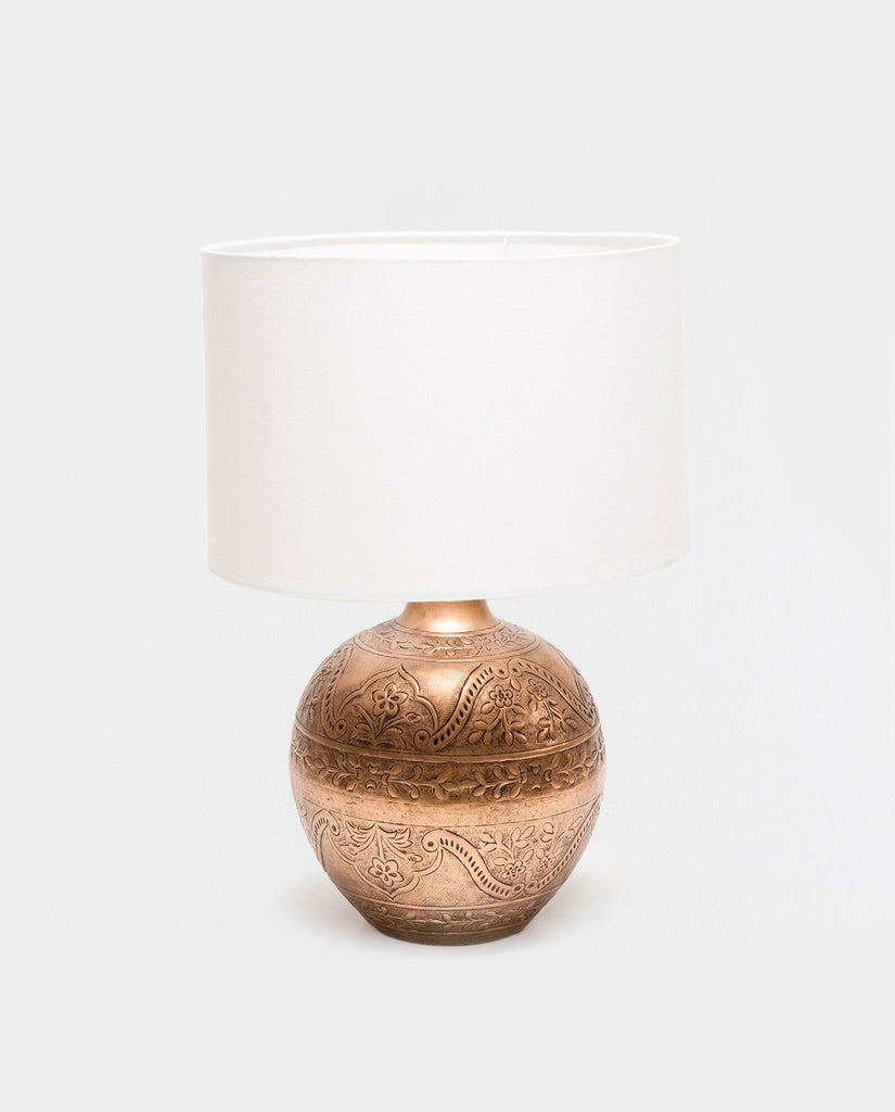 Copper Lamp