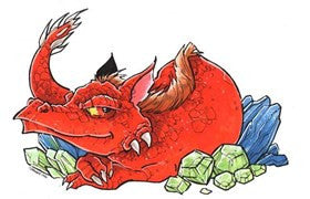 A Big Red Dragon ~ a story by Saige