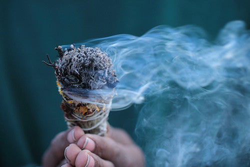 Smudging to Clear Negative Energy