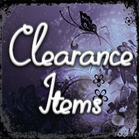 SALE! ~ Clearance Items