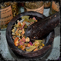 Herbs, Resins & Berries