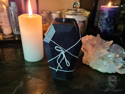 coffin candle releasing spell