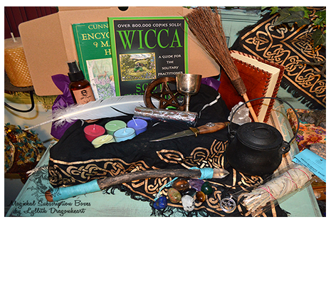 beginners wicca subscription box