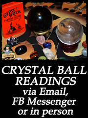 crystal ball readings via email