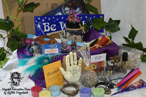 mystery subscription boxes witchcraft new age spiritual wicca pagan