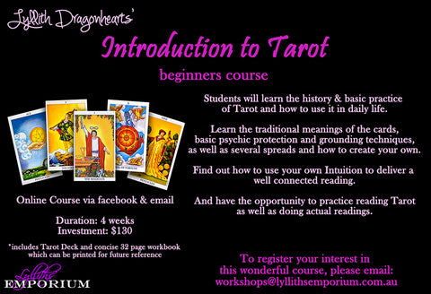 Introduction to Tarot Workshop
