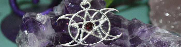 jewellery, amulets, talismans, pagan and wiccan, gemstone jewellery