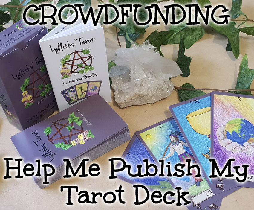 Crowdfunding - please help me publish my first Tarot Deck