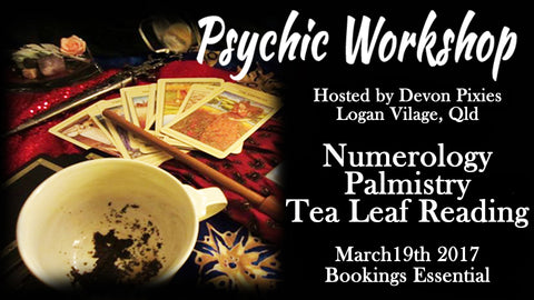 Psychic Workshop - Devon Pixies
