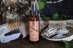 smudge spray white sage essential oil