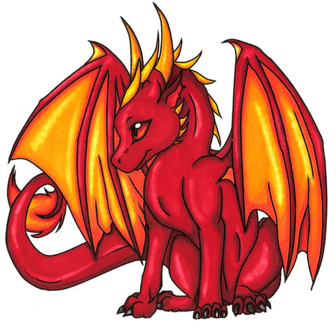 Donevan the Red Dragon