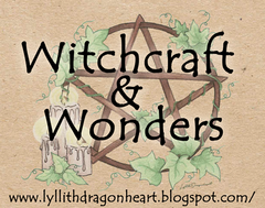 witchcraft and wonders - my new blog