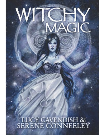 witchy magic book cover - lucy cavendish australia