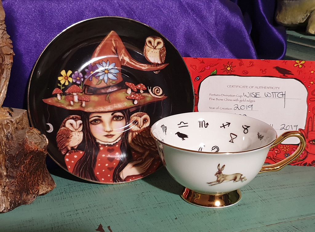 Wise Witch ~ Fortuna Tea Cup Set