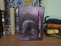 Witchs' Spell Book journal with pen
