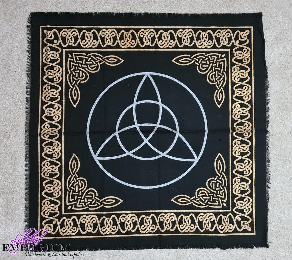 Triquetra Penagram Altar Cloth