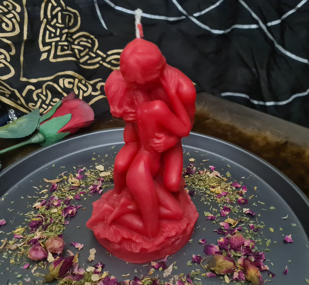 Lovers Candle ~ high detail