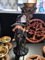 Witch Backflow Incense Holder
