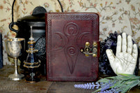 Leather Journal ~ Goddess