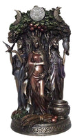 Triple Goddess ~ bronze statue