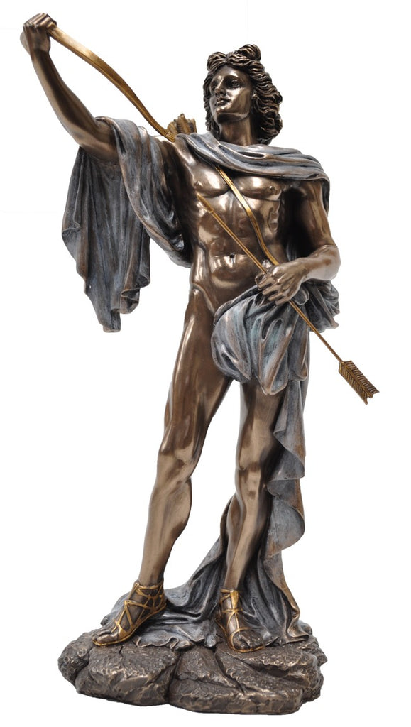 Apollo ~ bronze statue