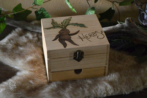 Mandrake Herb Chest (filled)