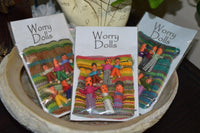 Worry Dolls - family in pouch