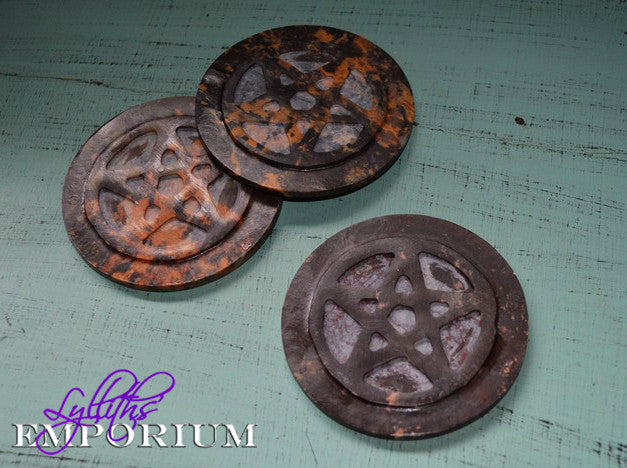 Altar tiles, pentagram, alter tools, pagan tools -  Lylliths Emporium, wicca pagan witchcraft spiritual supplies Australia