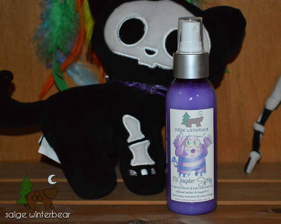 potions, monster, monster spray -  Lylliths Emporium, wicca pagan witchcraft spiritual supplies Australia