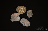 Morganite - raw, small X grade