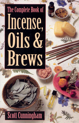 incense, oils and brews book, Scott Cunningham -  Lylliths Emporium, wicca pagan witchcraft spiritual supplies Australia